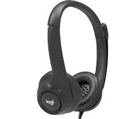 Logitech Wired USB headset image 1