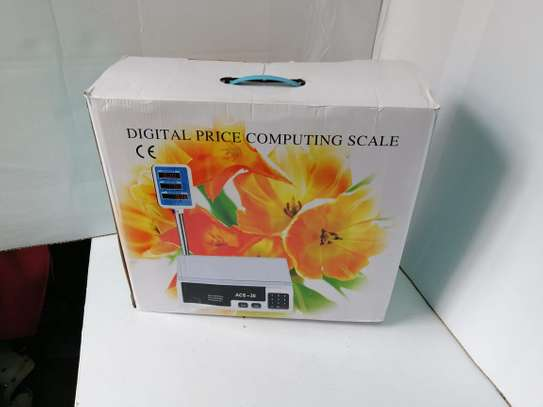 30 &40 kg  Butchery And Groceries Digital Computing Scale image 2