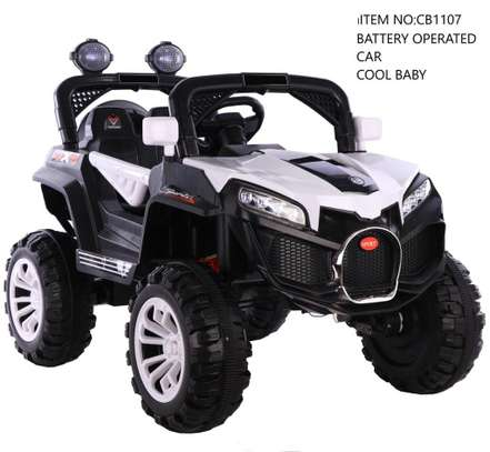 Baby Electric Car With 4 Motors CB1107 image 1