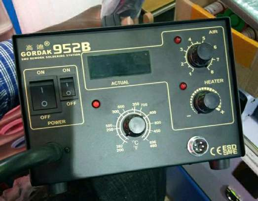 Hot Air SMD Soldering Iron Rework Station image 1