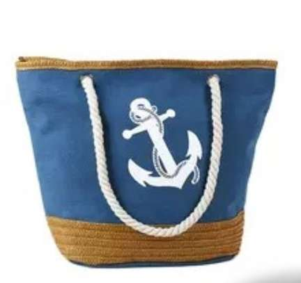 large capacity rope handbag image 7