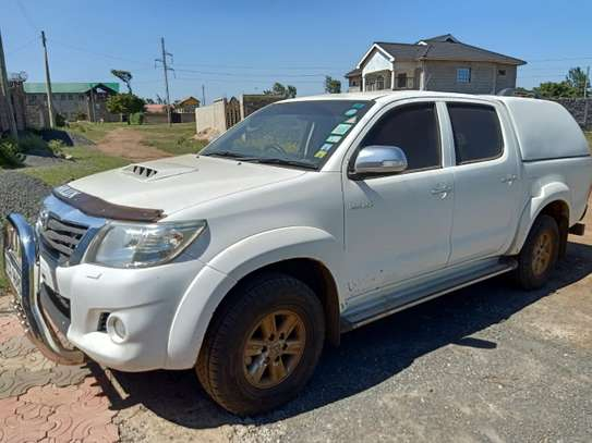 TOYOTA HILUX 4/4 DOUBLE CAB 2012 image 9