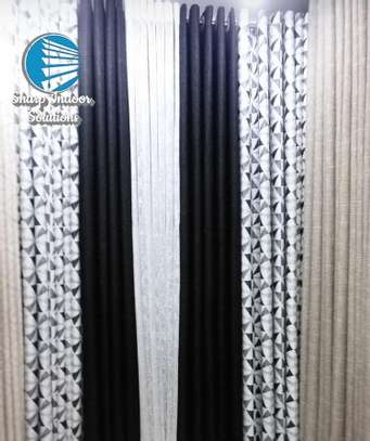 decorative double sided curtains image 1