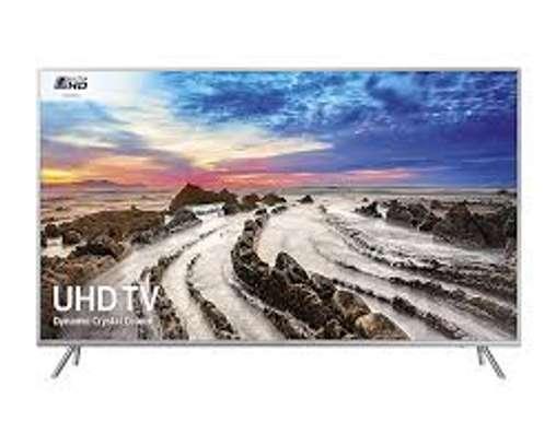 Samsung 65 inches 65TU8000 Smart Frameless UHD-4K Digital TVs image 1