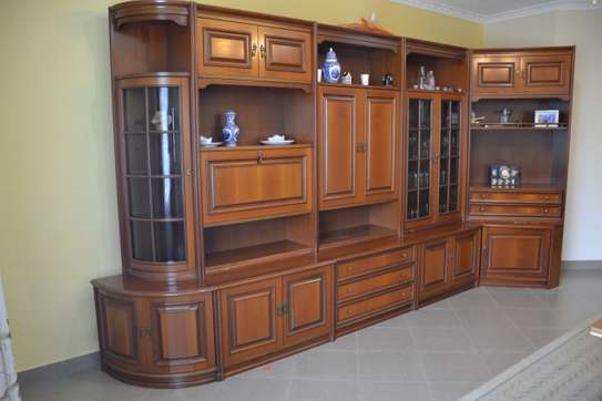 For Sale Antique Wall Cabinet Imported from Italy image 2