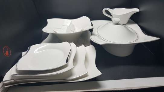 32 Pc Autumn Dinner Set image 1
