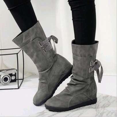 Midleg warm ladies boots image 2