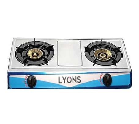 Lyons 2 burner gas cooker image 1