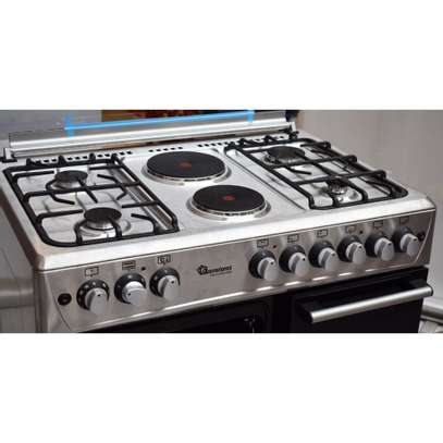 Ramtons 4G+2E 90X60 STAINLESS STEEL COOKER- RF/493 image 3
