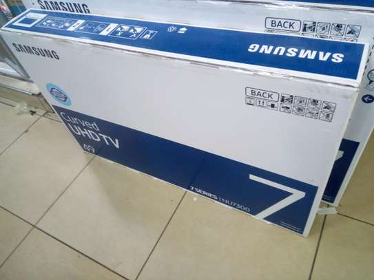 49 inches Samsung curved smart tv image 1