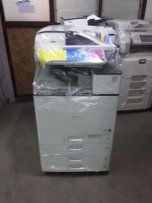 RICOH MPC5503 ROCKET SPEED COMMERCIAL PURPOSE PHOTOCOPIER/PRINTER AND SCANNER UP-TO A-3 SIZE PAPER AND GREAT TONER YIELD