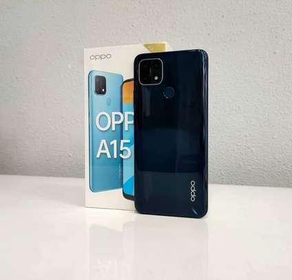 "Oppo A15 6.52"" Inch - 2GB RAM - 32GB ROM - 13MP+2MP Dual Camera 4G __Black image 1"