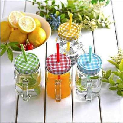 Juice/smoothies mason jars