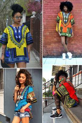 dashiki top.Ke