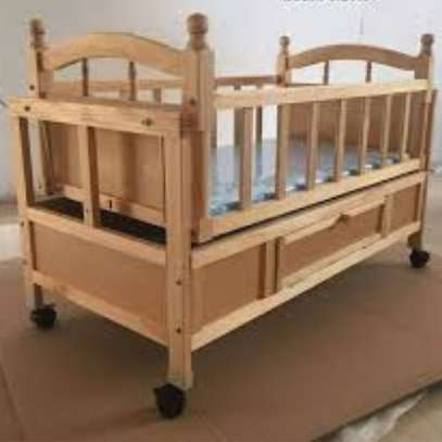 Selling baby cots image 2