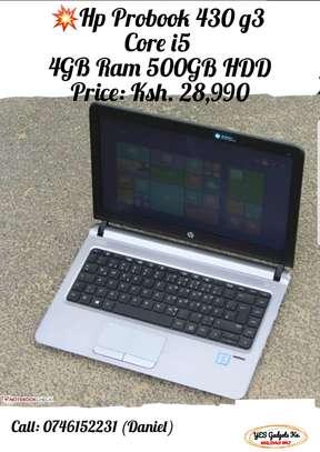 HP probook 430 G3 Core i5 4GB RAM 500GB HDD image 1