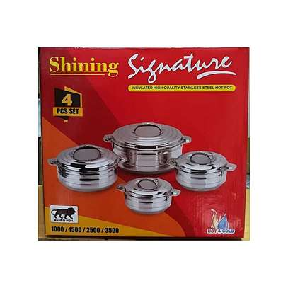 Signature Stainless Steel Hot Pot - 4PCs