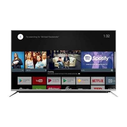 "Skyworth 55"" Class HDR 4K UHD Smart android LED TV image 3"