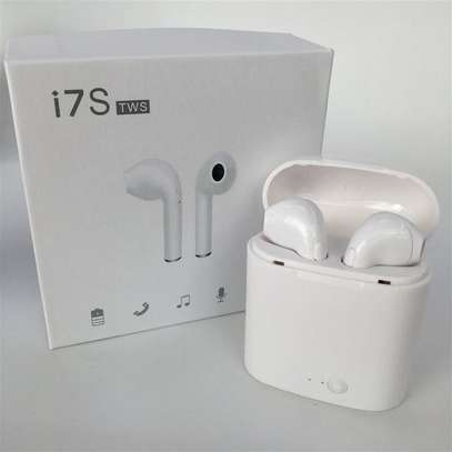 I7 TWS iPod twins bluetooth wireless stereo earbuds image 3