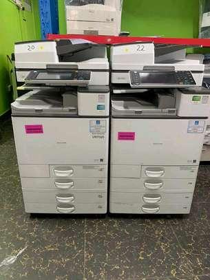 Ricoh Aficio MP C6003 photocopier, printer and scanner image 1