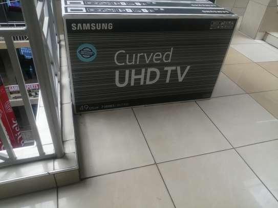 "49""Samsung curved smart uhd tv image 1"
