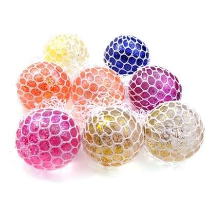 Anti Stress Glitter Mesh Ball image 2