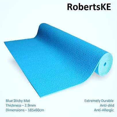 plain color yoga mat image 7