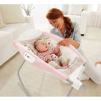 Fisher Price Deluxe Rock 'n Play Sleeper-Baby cot with Vibrations-( Genuine product 100%)