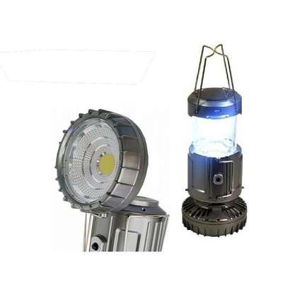 Solar Charging Camping Lantern Led Lamp Light image 1
