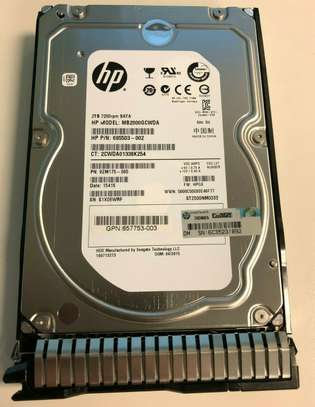 HP 2TB 7200rpm SATA Server Hard Drive image 2
