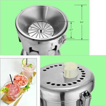 Commercial Stainless Steel Automatic Centrifugal Juicer Juice Making Machine image 2