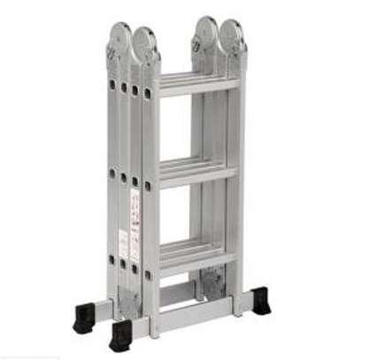 Aluminium Folding Ladder in kenya image 1