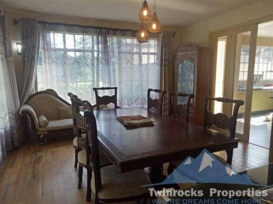 Furnished 4 bedroom house for rent in Karen image 9
