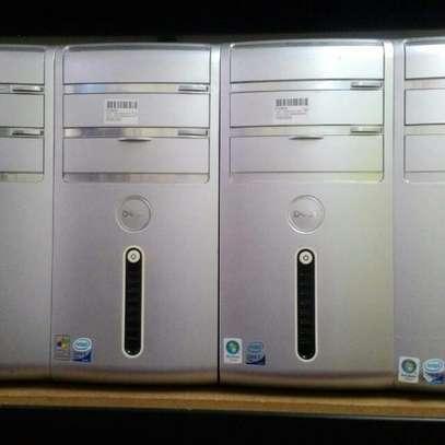 Desktop Computer Dell 2GB Intel Core 2 Duo HDD 250GB image 1