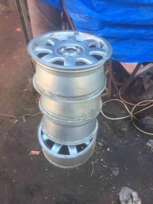 "Audi Original Alloy 15"" Rims"
