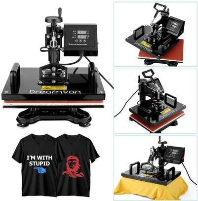 Heat Press, Heat Transfer Machine 12X15 8IN1 image 3