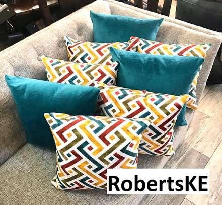 Elegant throw pillows image 1