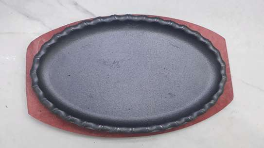 Sizzling plate/hot plate/nonstick plate/sizzler plate image 2