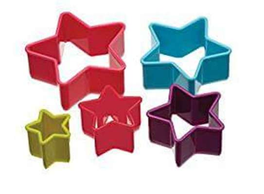 Plastic Dough Cookie Cutter, Assorted - 1 Set image 8
