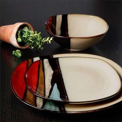 24 Piece Ceramic Dinner set image 5