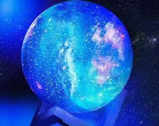 Moon Lamp, 5.9 inch Pretty LED Night Light Ball, Remote Control image 1