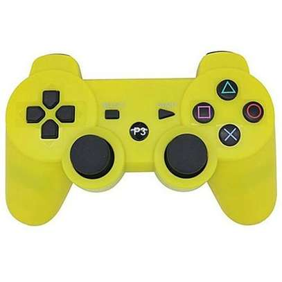 P3 PS3/PC Pad Double PS Shock 3 - Wireless -Yellow