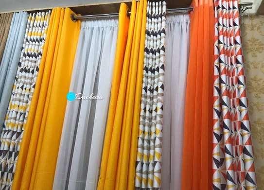elegant double sided curtains image 1
