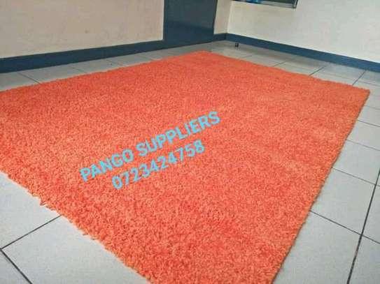 Turkish shaggy carpets(6'9) image 4