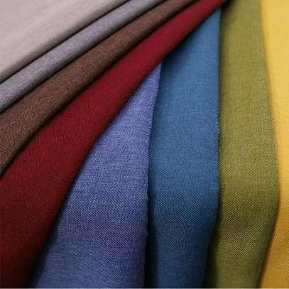 Plain curtains image 3