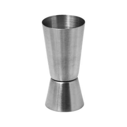 Aluminium double dot Measure 60ml,30ml image 1