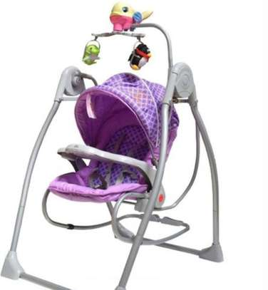 Battery operated baby swing & rocker image 3