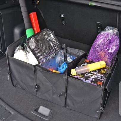 Foldable car boot organizer image 8