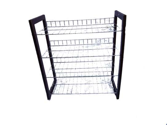 4-tier Wide Wire Metal Shelving unit