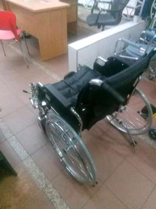 Extra wide wheelchair image 5